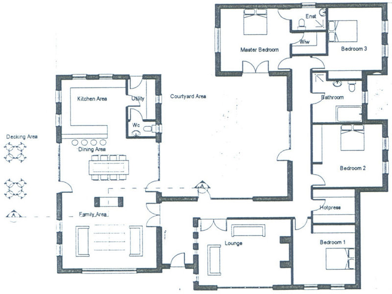 Irish house layouts