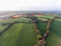 39 Arial outlined - large parcel of land